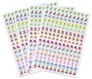 Belohnungssticker Prinzessin, Ritter & Co., 660 Sticker