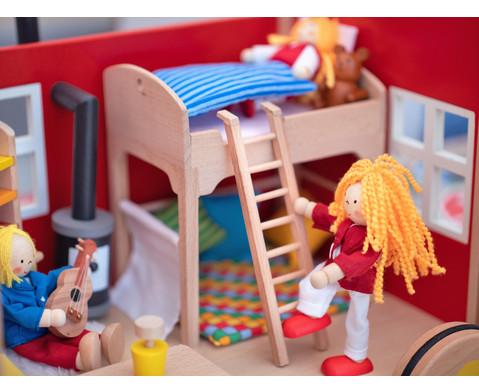 Puppenbauwagen mit Zubehoer-8