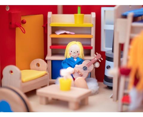Puppenbauwagen mit Zubehoer-9