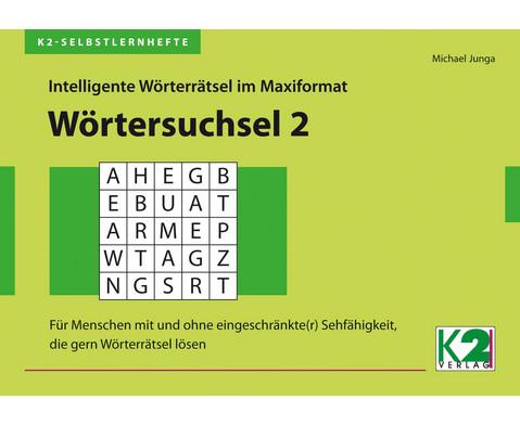 K2-Selbstlernheft Woerterraetsel 2-6