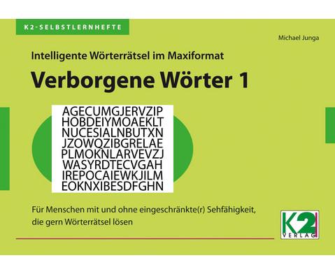 K2-Selbstlernheft Woerterraetsel 1-8