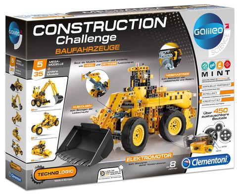 Konstruktions-Set Baufahrzeuge mit Elektromotor
