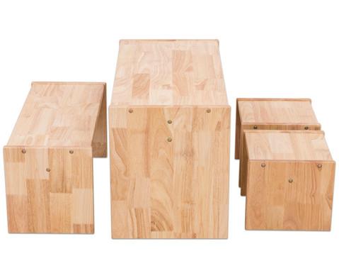 Betzold Holz-Sitzgruppe 4-tlg