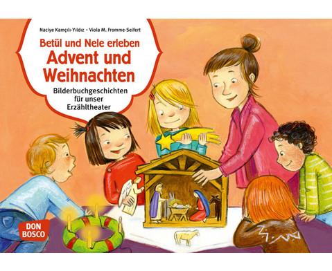 Betuel und Nele erleben Advent  Weihnachten Kamishibai-Bildkartenset
