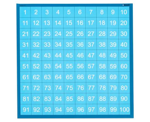 Zahlenraum 100 - Spielplane Figuren und Wuerfel 75 x 75 cm-7
