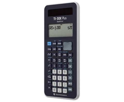 Schuelerrechner TI-30X Plus MathPrint-2