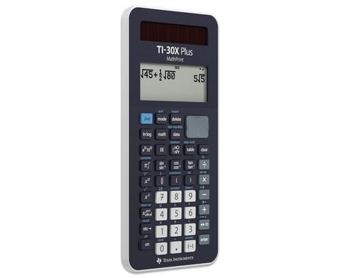Schuelerrechner TI-30X Plus MathPrint-3