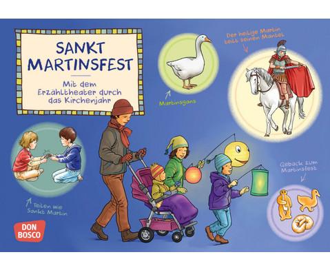 Bildkarten Sankt Martinsfest