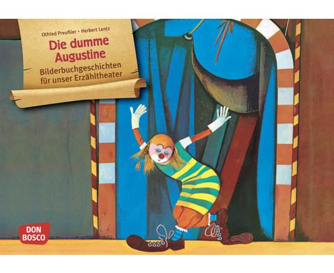 Bildkarten Die dumme Augustine