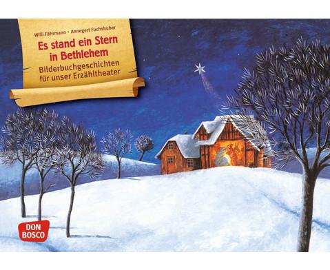 Es stand ein Stern in Bethlehem Kamishibai-Bildkartenset