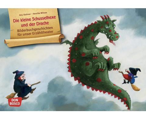 Die kleine Schusselhexe und der Drache Kamishibai-Bildkartenset