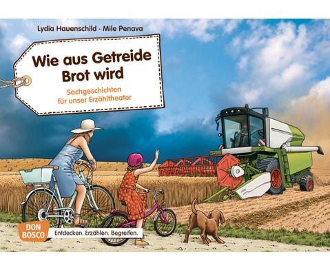 Bildkarten Wie aus Getreide Brot wird