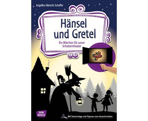 Haensel und Gretel - Schattentheater-Set