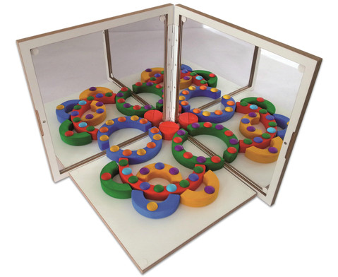 Spiegelkoffer-Set