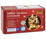 Lichterkette 100er Micro LED  für Innen und Außen