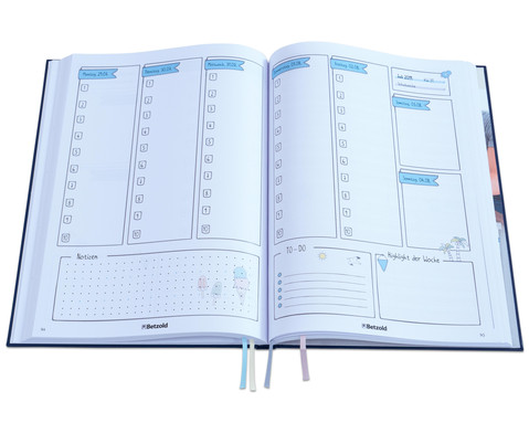 3 fuer 2 Betzold Design-Schulplaner 2018-2019 Hardcover-2
