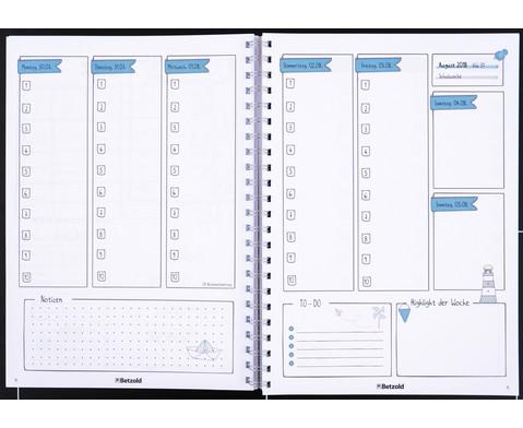 3 fuer 2 Betzold Design-Schulplaner 2018-2019 Ringbuch-5