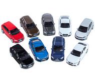 9 Modellautos, Maßstab 1:43