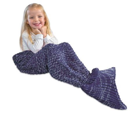 Kuscheldecke Meerjungfrau