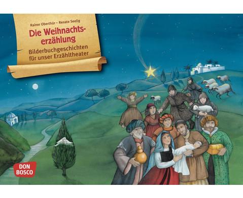 Die Weihnachtserzaehlung Kamishibai-Bildkartenset