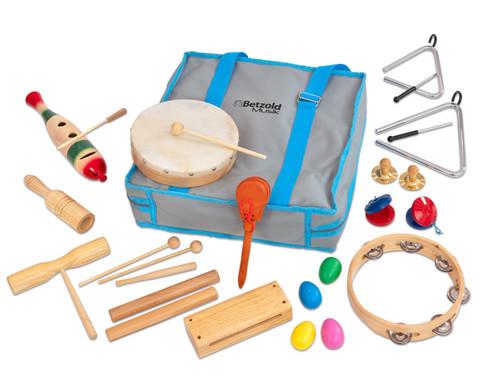 Betzold Musik Rhythmik-Tasche mit 19 Instrumenten