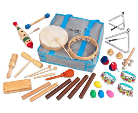Betzold Musik Rhythmik-Tasche mit 26 Instrumenten