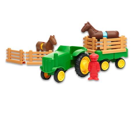 Riesen-Magnet-Bauteile Traktor-Set 21-teilig