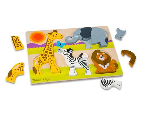 Safari Tier Holz-Puzzle-2