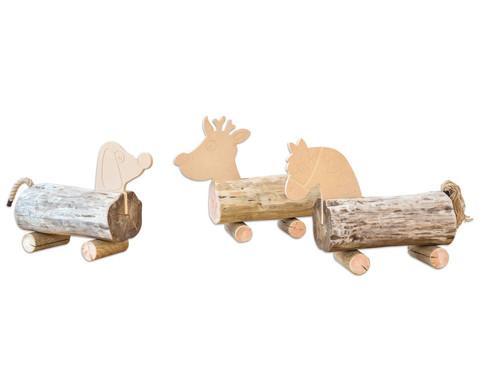 Baumstamm Tiere-3