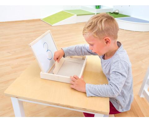 Sandwanne mit Tafel und Whiteboard-6