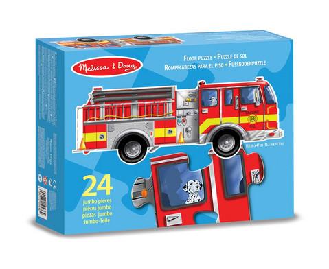 Bodenpuzzle Feuerwehr 24 Teile-3