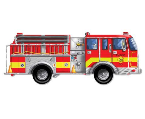 Bodenpuzzle Feuerwehr
