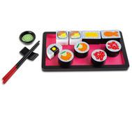 Holz Sushi Set