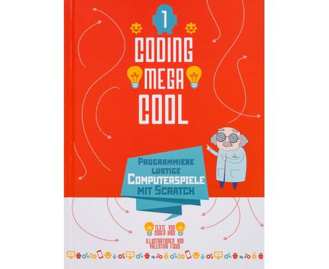 Coding Mega Cool 1 Programmiere lustige Computerspiele mit Scratch