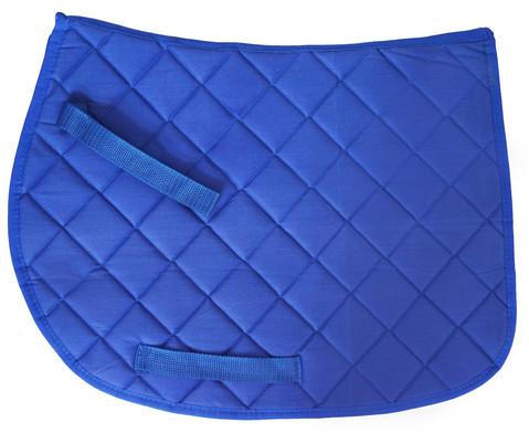 Sattel fuer Holzpferd blau-5