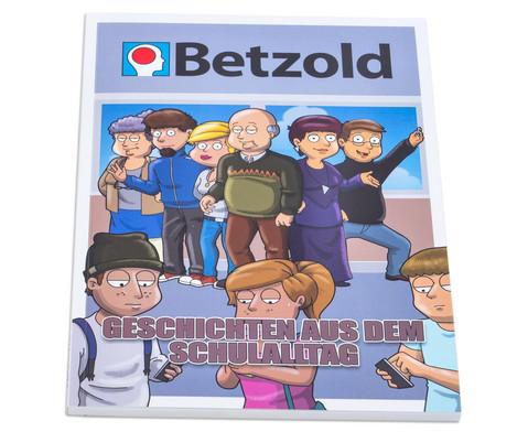 Cartoon-Buch Schule