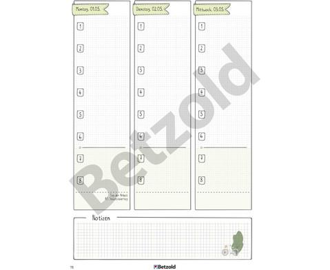 Betzold Design-Grundschulplaner 2019-2020 Hardcover-8