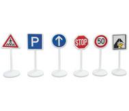 Verkehrsschilder mit Sticker
