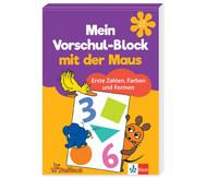 Vorschul-Block mit der Maus - Zahlen, Farben und Formen
