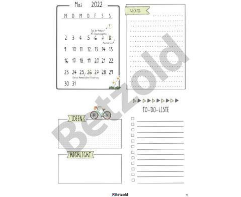 Betzold Design-Schulplaner 2019-2020 Ringbuch DIN A4-16