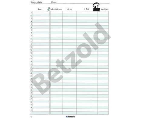 Betzold Design-Schulplaner 2019-2020 Ringbuch DIN A4-19