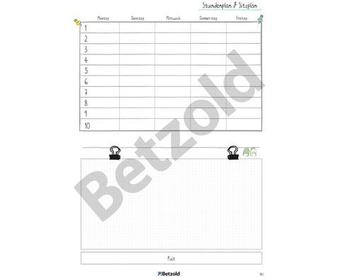 Betzold Design-Schulplaner 2019-2020 Ringbuch DIN A4-20