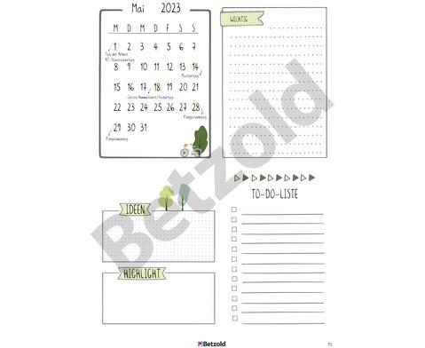 Betzold Design-Schulplaner 2019-2020 Hardcover DIN A5-5