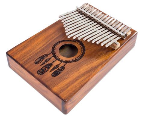 Kalimba Koa 17 Klangzungen