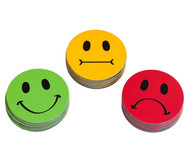 Smiley Magnete, 30 Stück