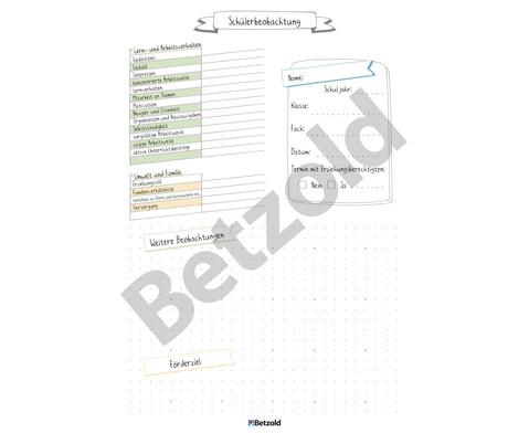 Schueler-Beobachtungsblock DIN A4 80 Blatt-2