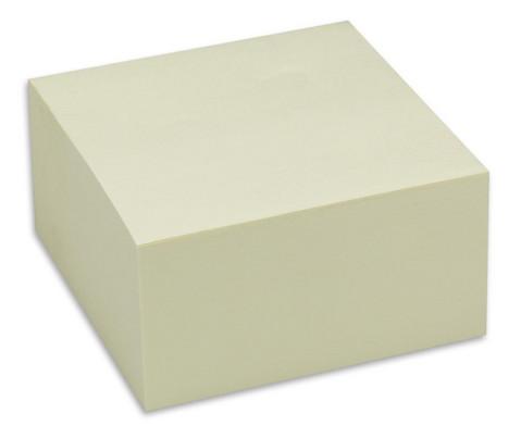 Haftnotizwuerfel 400 Blatt gelb
