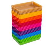 treeNside-Materialschalen klein, verschiedene Farben