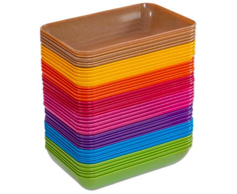 treeNside-Materialschalen gross 5 Stueck Farbe waehlbar