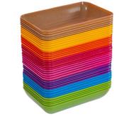 treeNside-Materialschalen groß, 5 Stück, verschiedene Farben